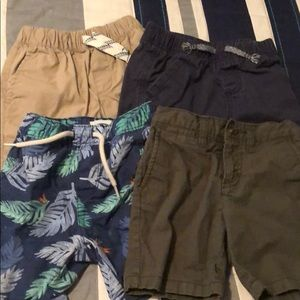 4 pairs of size 3T shorts